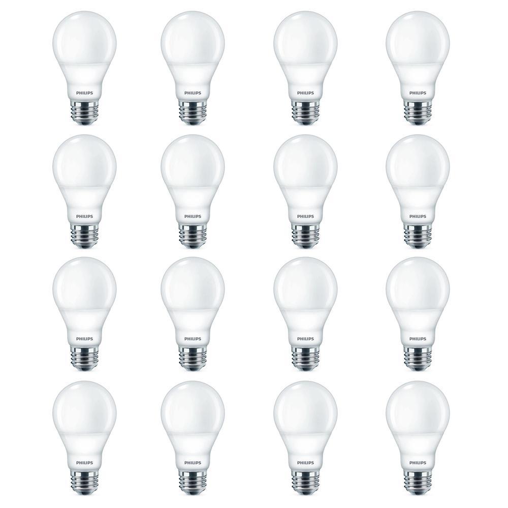 Philips 40-Watt Equivalent A19 LED Light Bulb Daylight (16 per Case)