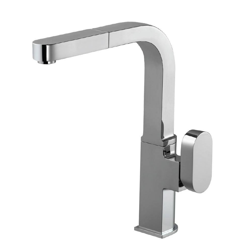Azura Single-Handle Pull Out Sprayer Kitchen Faucet with CeraDox Technology in
