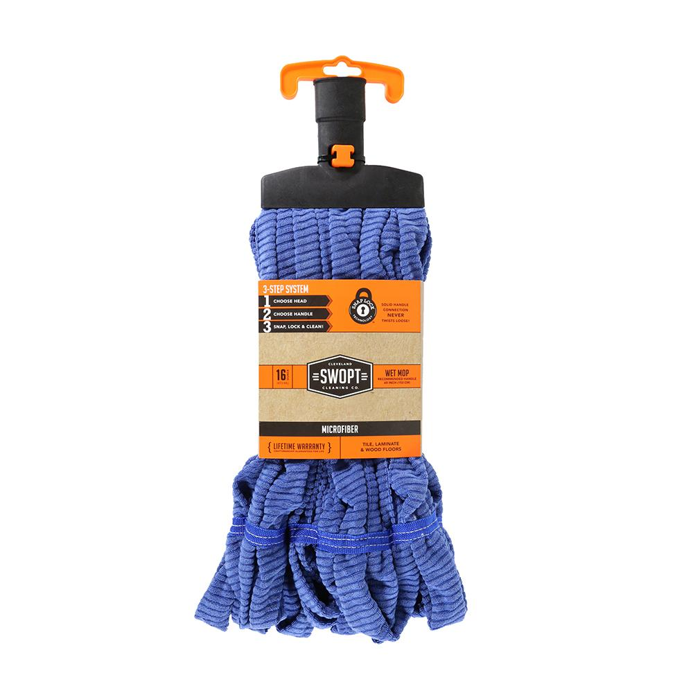 Swopt Microfiber Mop Head 5111 The Home Depot