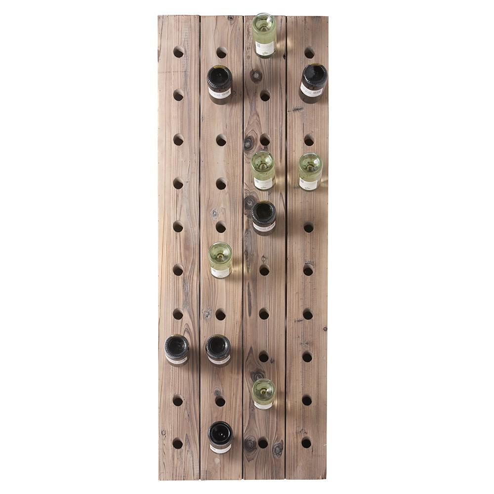 Home Decorators Collection Wood Wine Rack 1291300950 The Home Depot