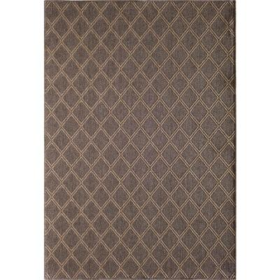 Santorini Diamond Pebble/Natural 8 ft. x 10 ft. Indoor/Outdoor Area Rug
