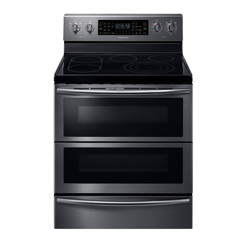 Flex Duo Double Oven Electric Range With
