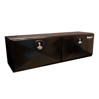 72 Gloss Black Steel  Underbody Truck Tool Box