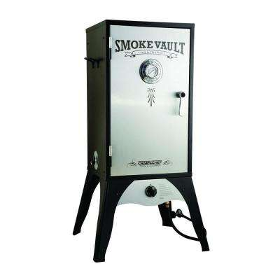 Smoke Vault 18 in. Propane Gas Smoker