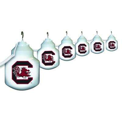 6-Light Outdoor University of South Carolina String Light Set