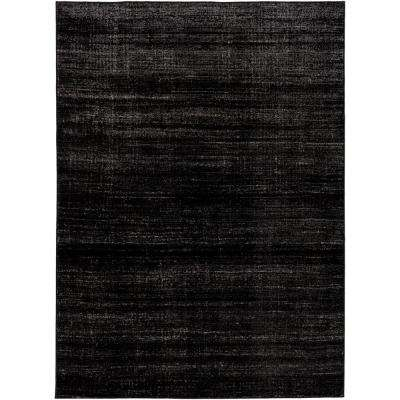 Amadeo Black 8 ft. x 10 ft. Indoor Area Rug