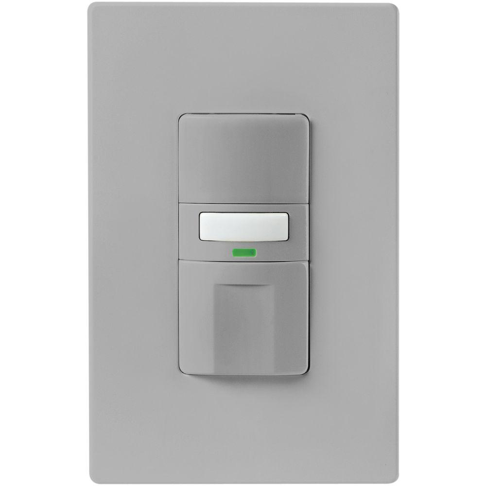 Eaton Commercial Grade 120/277-Volt Dual Technology Wall-Box Mounted Occupancy Sensor, Ivory