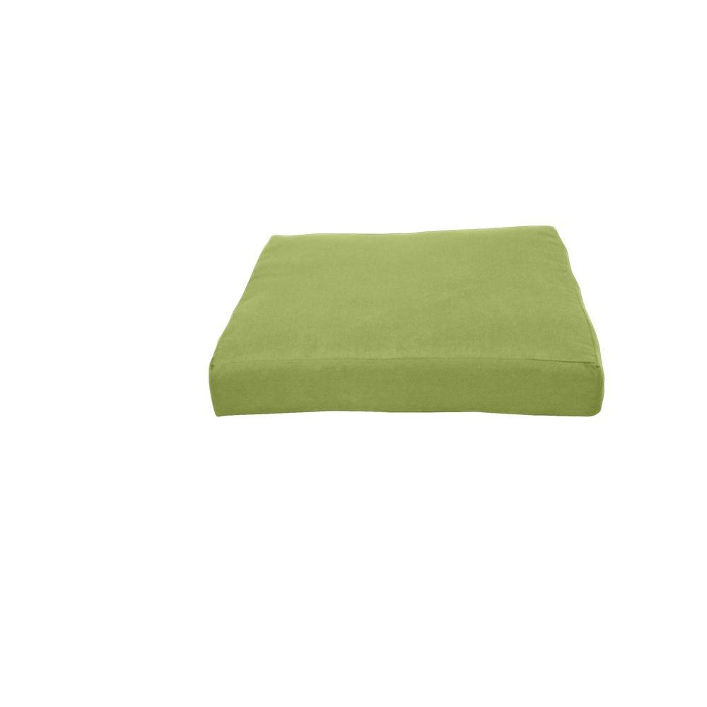 Sunbrella Kiwi Square Modular Outdoor Cushion