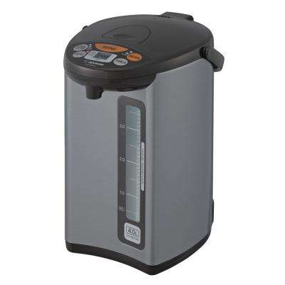 Micom Water Boiler and Warmer CD-WCC40 Silver Dark Brown