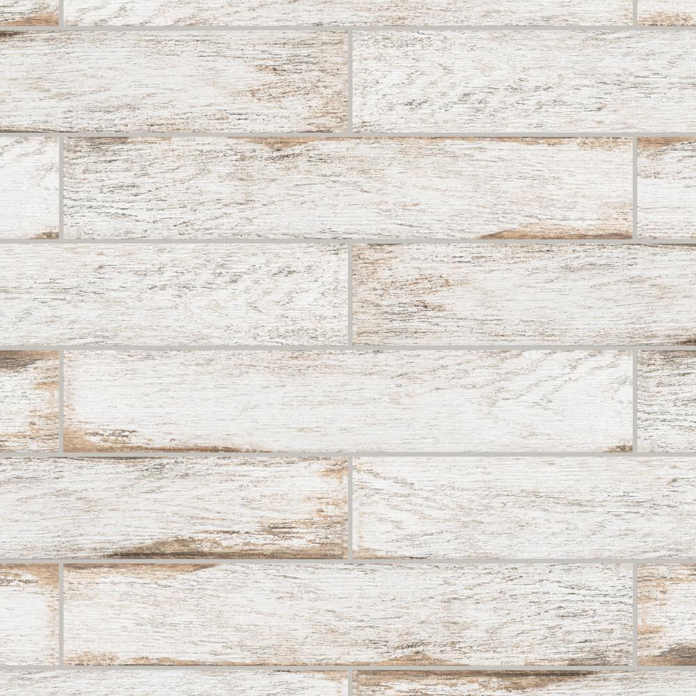 Merola Tile Bora White 3 1 8 In X 17