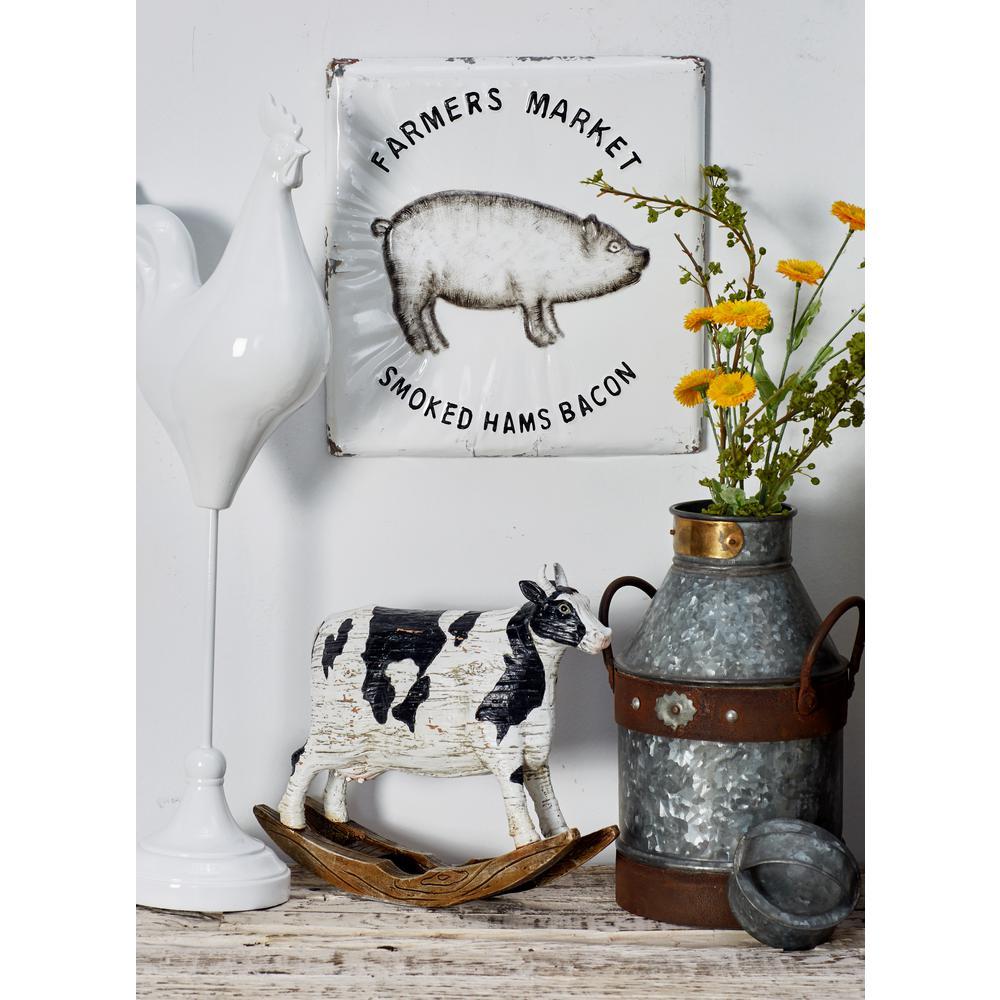 Barnyard Animal Metal Decorative Sign