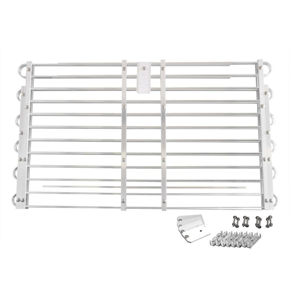 Adjust-A-Grate 22 - 25 in. x 60 - 66 in. Adjustable Aluminum Window Well Grate