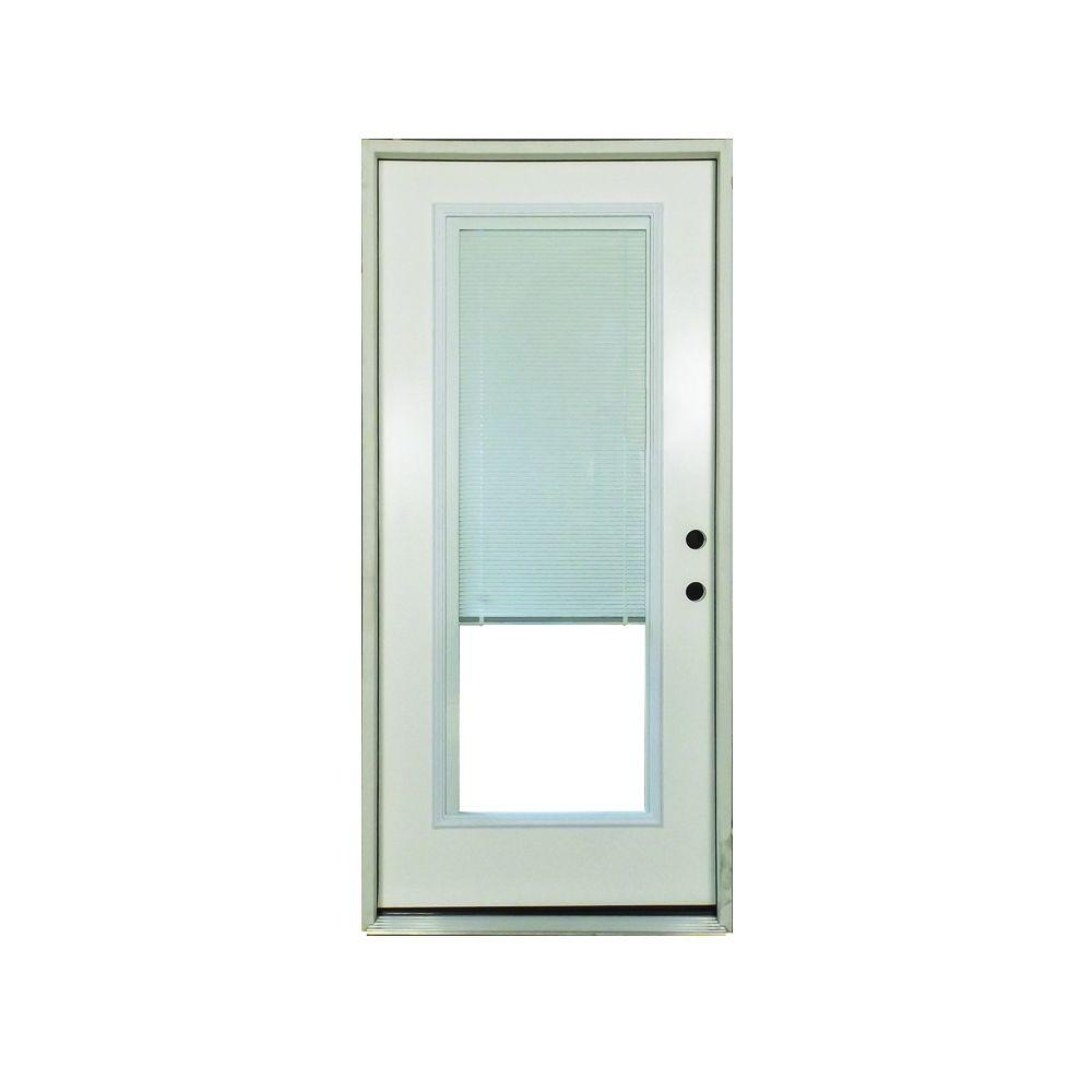 Steves \u0026 Sons 32 in. x 80 in. Premium Left-Hand Full Lite  sc 1 st  The Home Depot : mini doors - pezcame.com