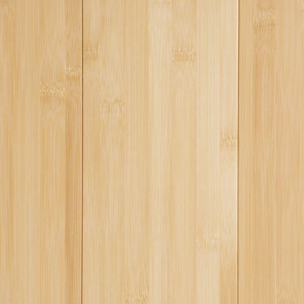 Home Decorators Collection Vertical Toast 3/8 In. Thick X 5 In. Wide X  38 5/8 In. Length Click Lock Bamboo Flooring (21.44 Sq. Ft.