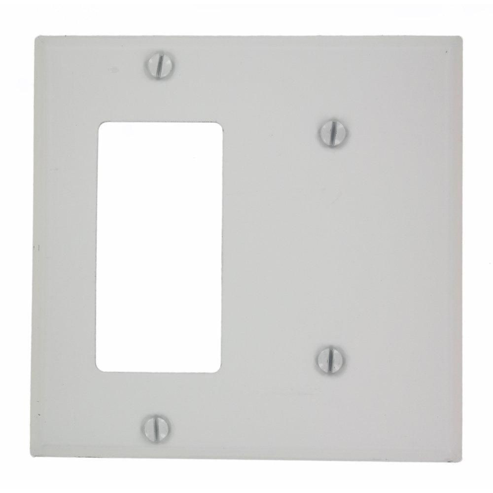 Leviton Decora Cover Plate  Gang Size Home Depot