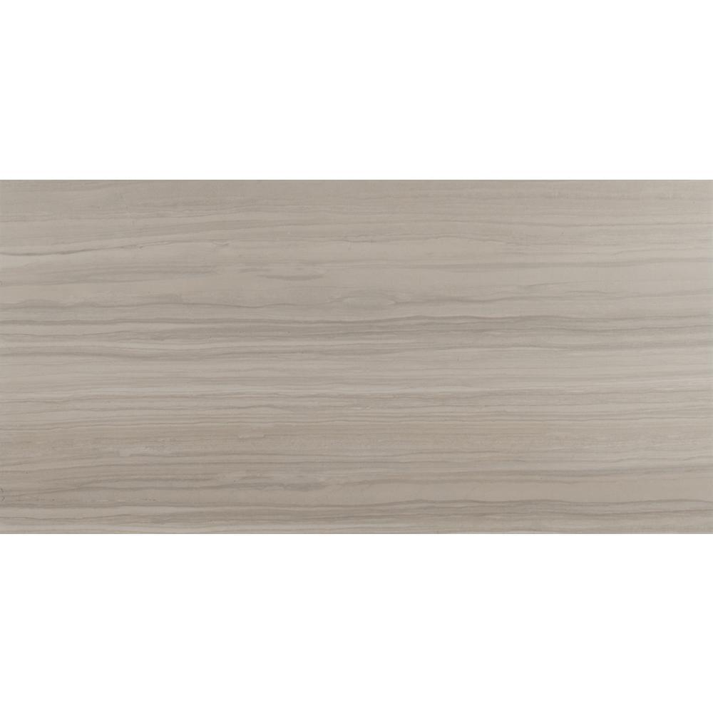 MSI Cresta White 12 in. x 24 in. Glazed Porcelain Floor and Wall Tile (12 sq. ft. / case)