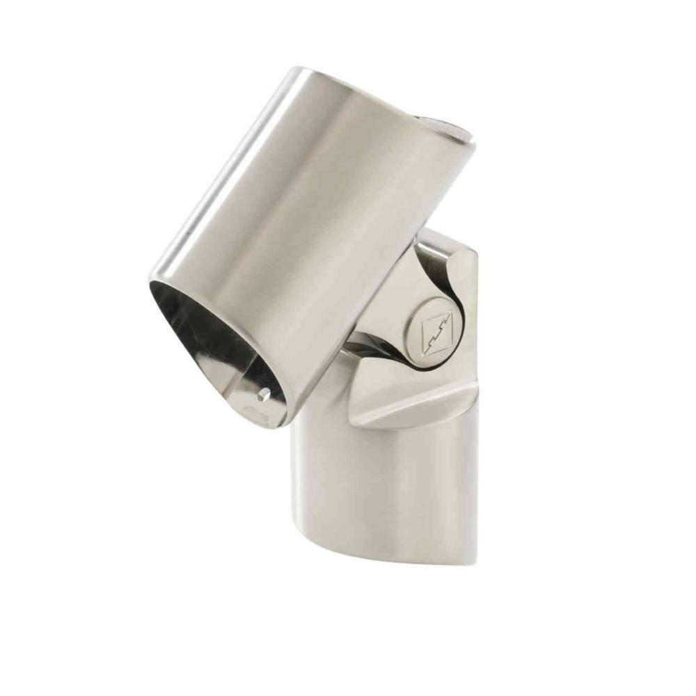 Brushed Nickel Intermediate Newel Connector