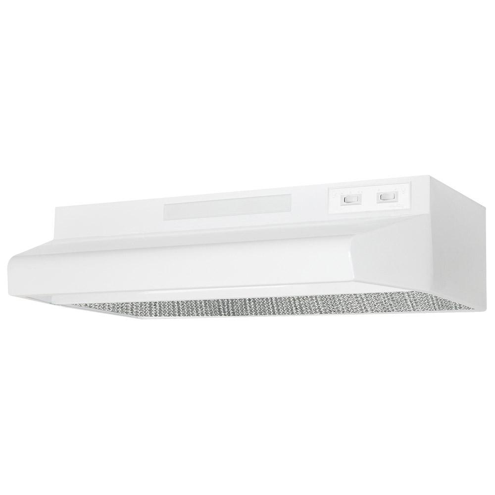 Deluxe Quiet ENERGY STAR 24 in. 280 CFM Under Cabinet Ducted