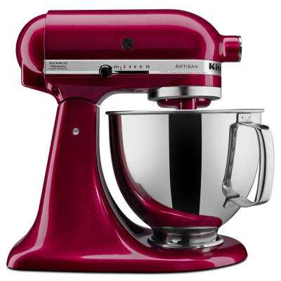 Artisan Series 5 Qt. 10-Speed Tilt-Head Stand Mixer-Bordeaux