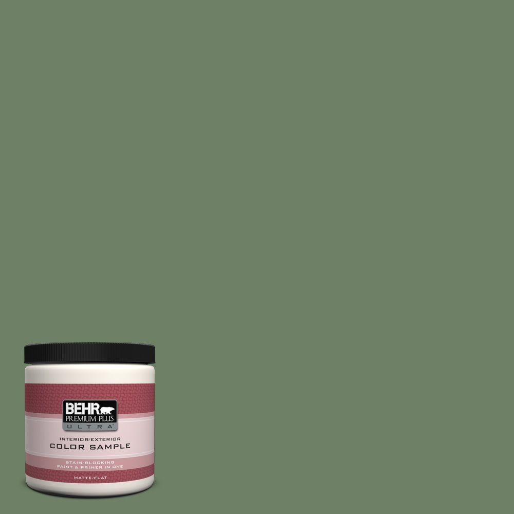 BEHR Premium Plus Ultra 8 oz. #S390-6 Cliffside Park Interior/Exterior Paint Sample