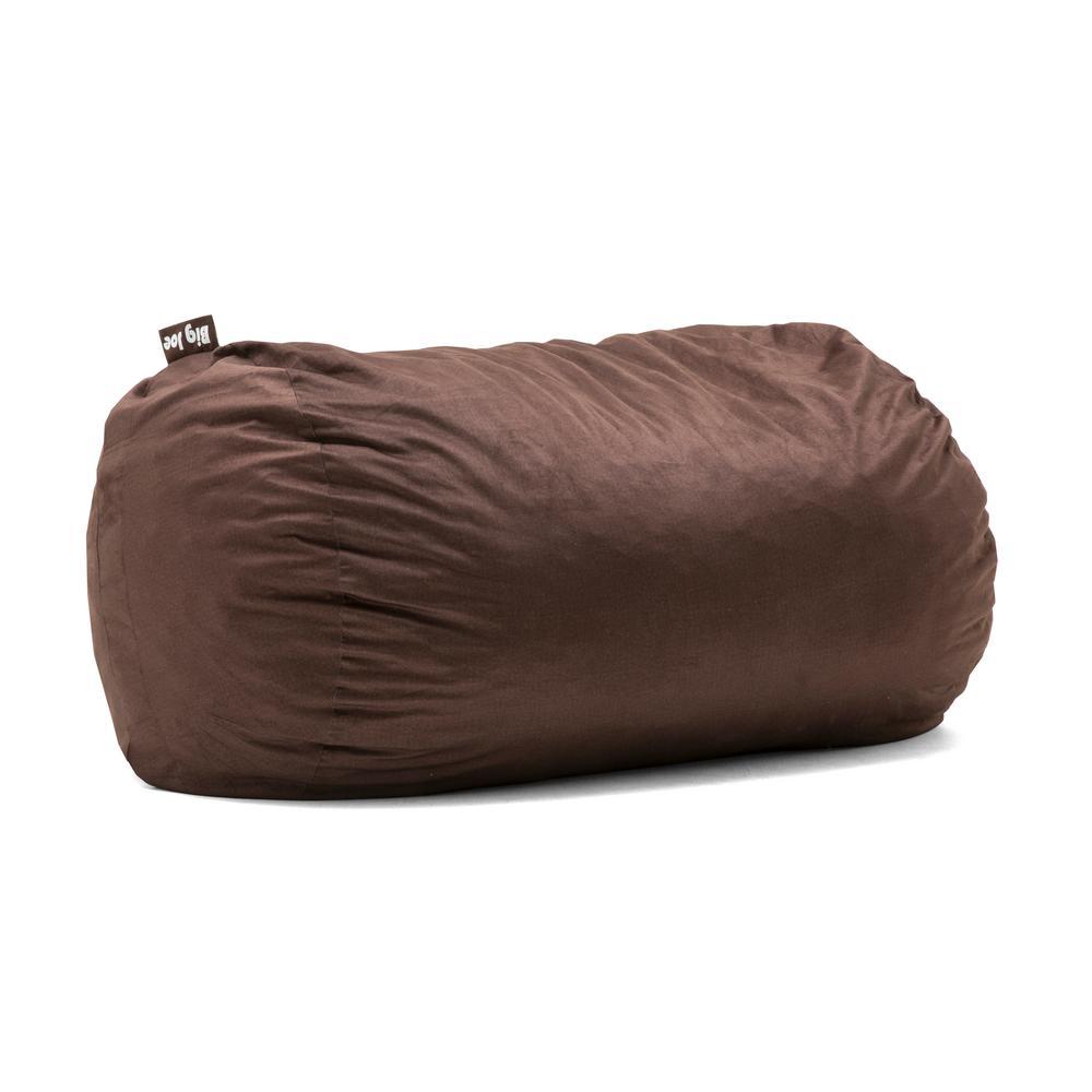 Joe Media Lounger Shredded Ahhsome Foam Cocoa Lenox Bean Bag