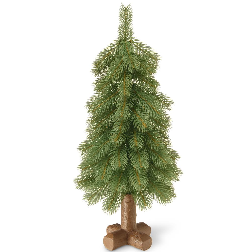 National Tree Company 24 in. Feel-Real Bayberry Cedar Tree-PEBY1-710 ...