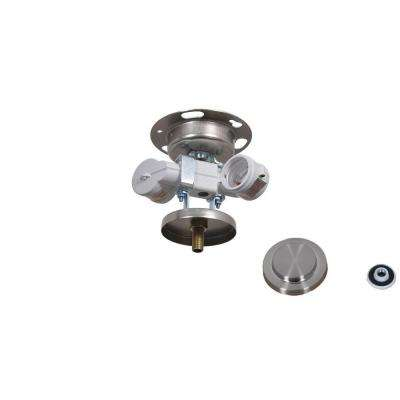 Brookedale 60 in. Brushed Nickel Ceiling Fan Replacement Light Kit