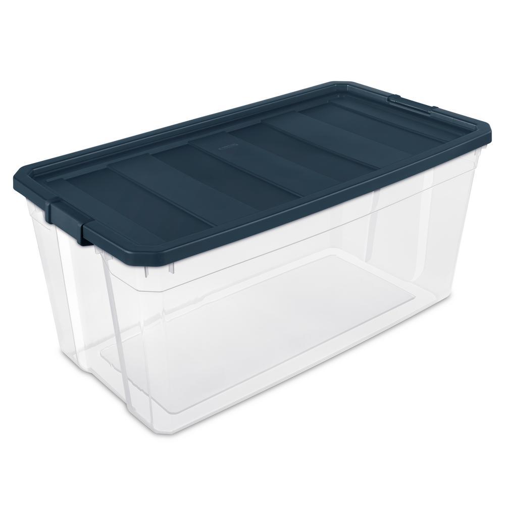 sterilite 50 gal. stacker box