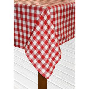 Red 100% Cotton Table Cloth