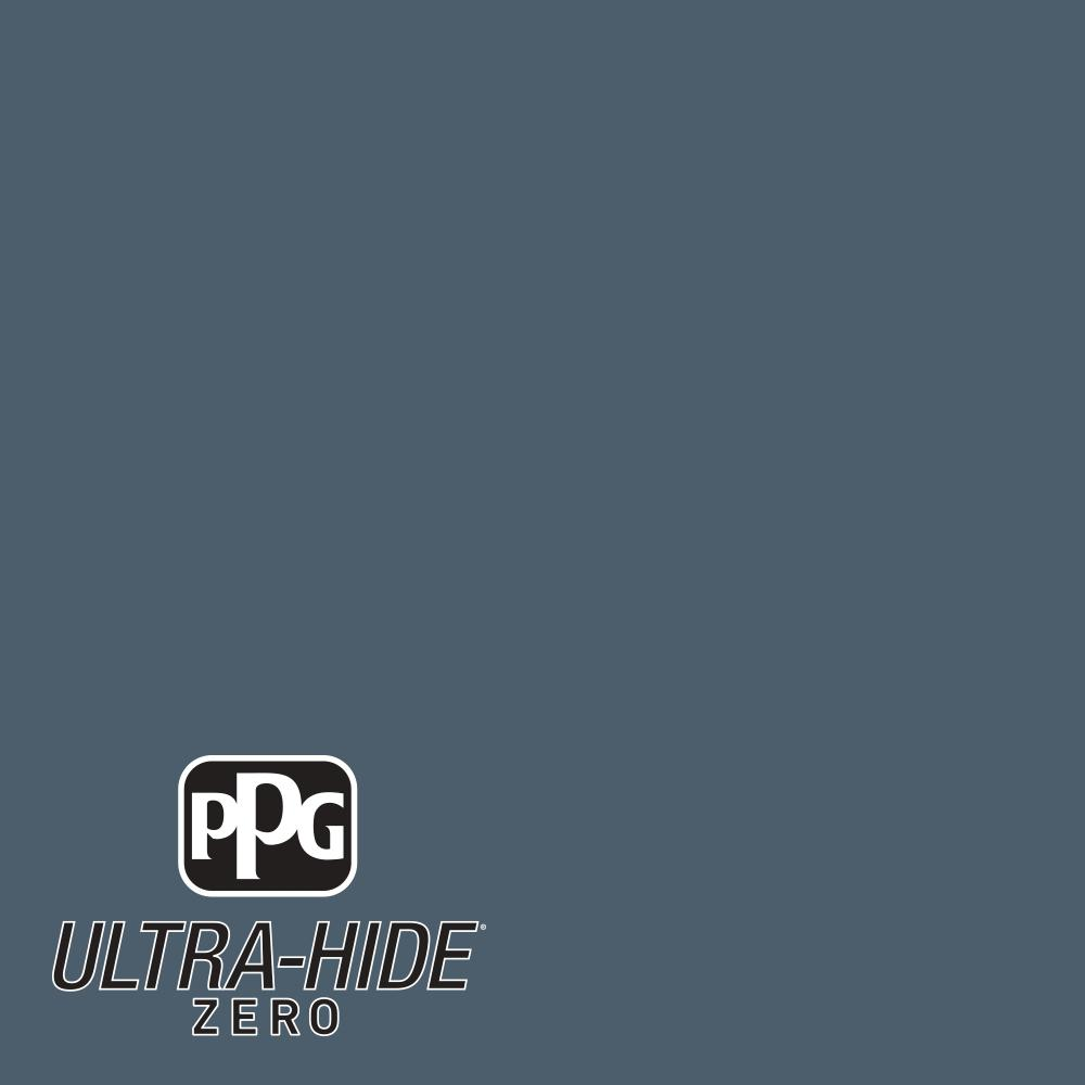 PPG 1 gal. #HDPB65 Ultra-Hide Zero Approaching Storm Eggshell Interior Paint