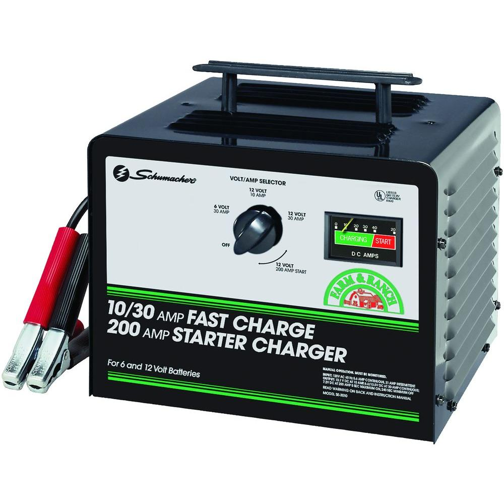 schumacher car battery chargers se 3010 64_1000 car battery chargers batteries, chargers & jumper cables the 400 Amp Battery Charger at creativeand.co