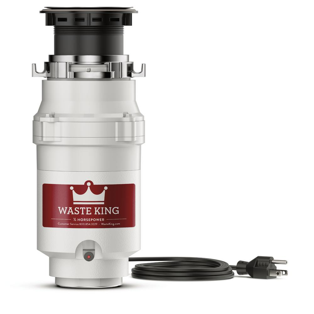 Legend Series 1/2 HP Continuous Feed Garbage Disposal