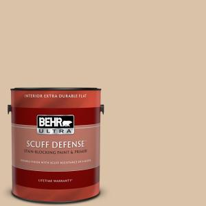 Behr Ultra 1 Gal Home Decorators Collection Hdc Wr15 8 Steamed Milk Extra Durable Flat Interior Paint And Primer 172001 The Home Depot