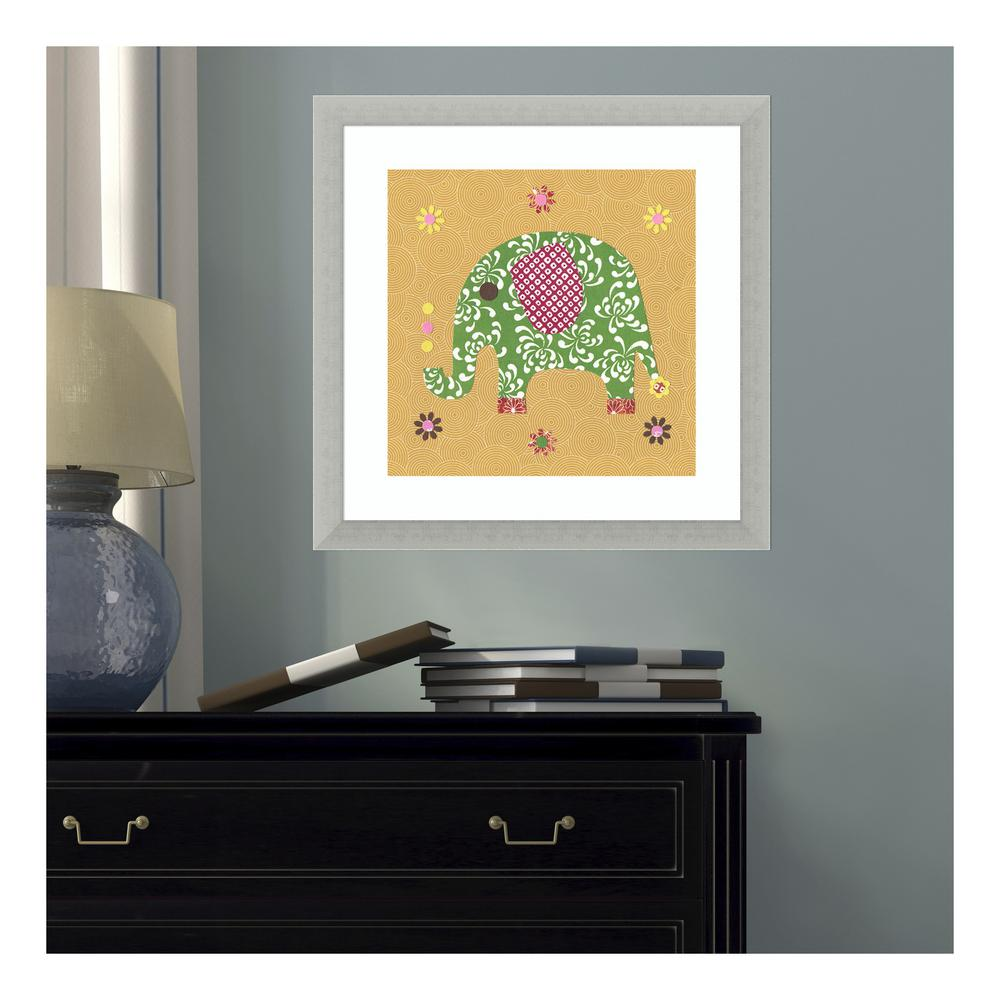 Classy Art 22 In X 26 African Elephant By Vivian Flasch Charger With Electrical Outlet Blacktr7740bkbox The Home Depot 17 W H Elephant39 Rachel