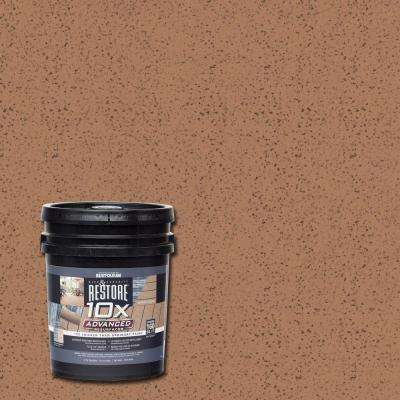 4 gal. 10X Advanced Santa Fe Deck and Concrete Resurfacer