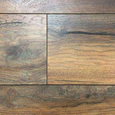 Take Home Sample - Yorkhill Oak Laminate Flooring - 5 in. x 7 in.