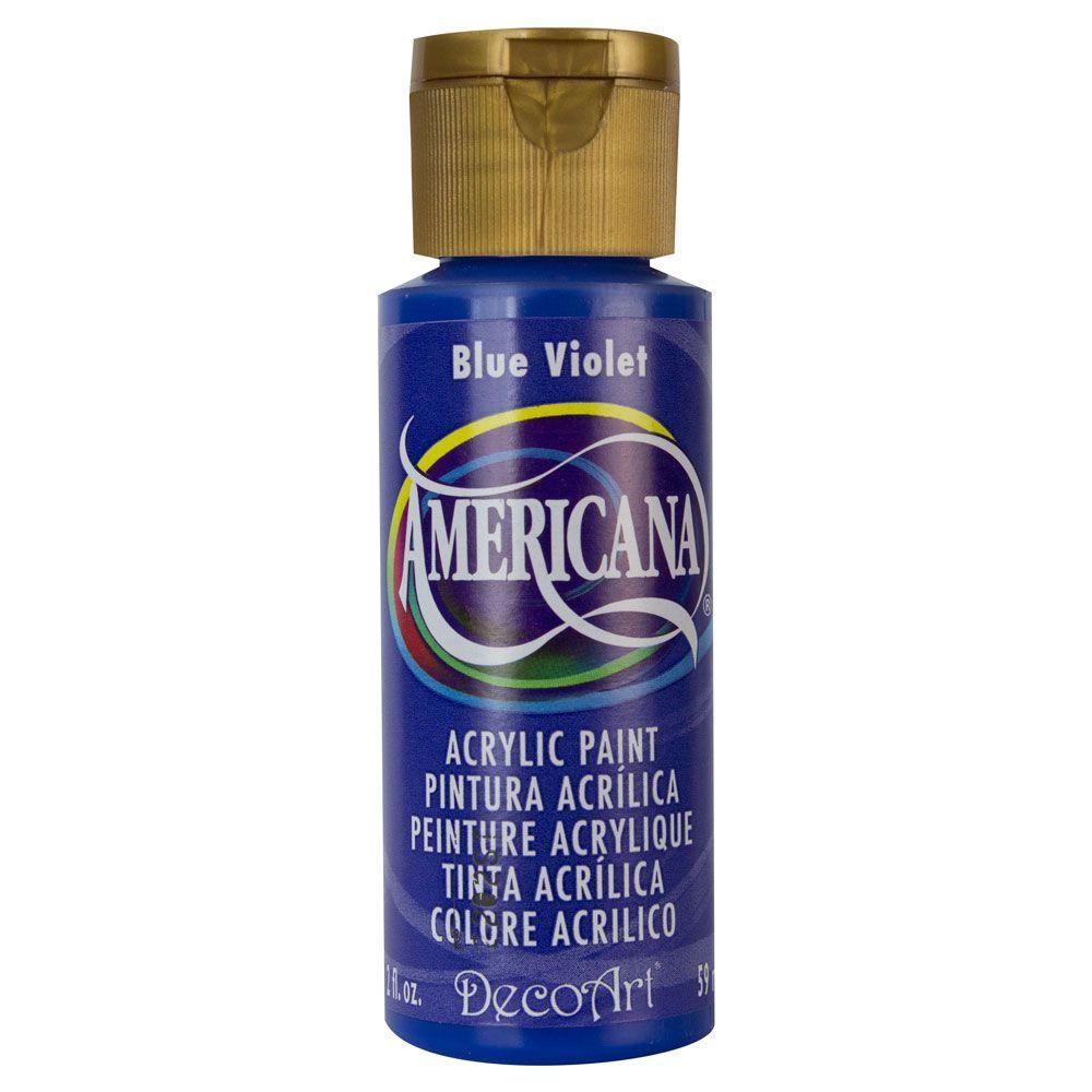 Americana 2 oz. Blue Violet Acrylic Paint