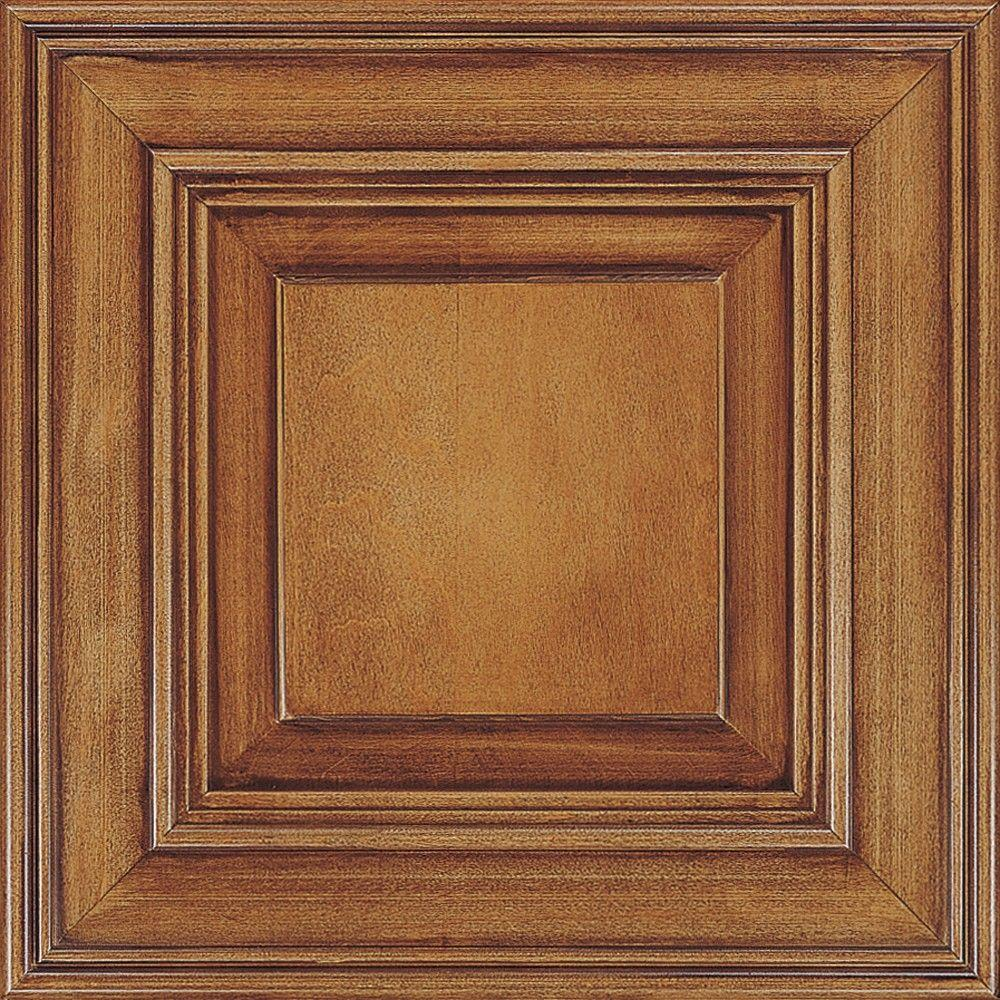Thomasville Classic 14.5x14.5 in. Cabinet Door Sample in Camden Maple Coffee