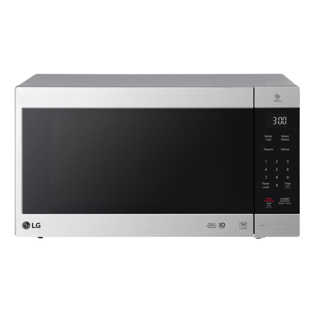Lg Electronics Neochef 2 0 Cu Ft Countertop Microwave In Stainless Steel