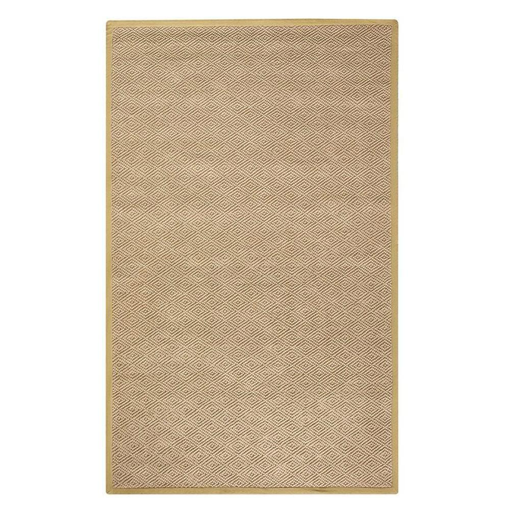 Home Decorators Collection Diamond Jute Dark Natural 8 ft. x 11 ft. Area Rug