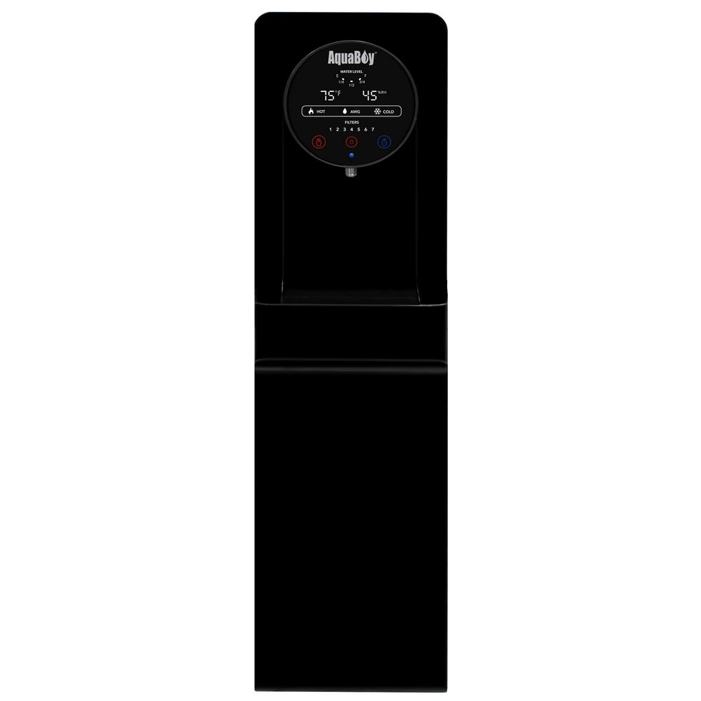 Pro II Water Cooler/Dispenser - Air to Water Generator in Black