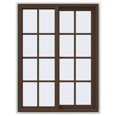 V-4500 Series Sliding Vinyl Windows with Grids