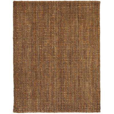 Mira Tan and Silver Grey 8 ft. x 10 ft. Jute Area Rug