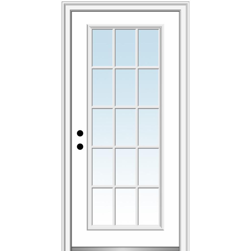 30 X 80 Exterior Doors Doors Windows The Home Depot