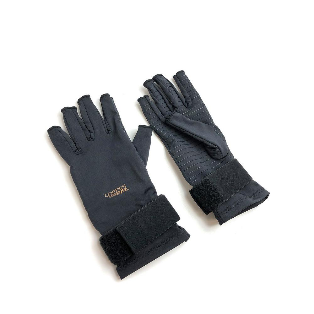 ea6c76f444 COPPER FIT Large/Extra Large Compression Gloves in Black-CFRRGL ...