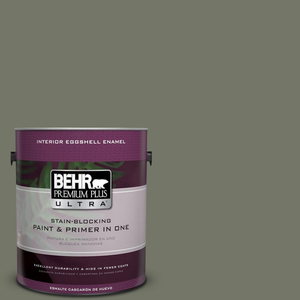 BEHR Premium Plus Ultra Home Decorators Collection 1-gal. #HDC-AC-20 Halls Of Ivy Eggshell Enamel Interior Paint