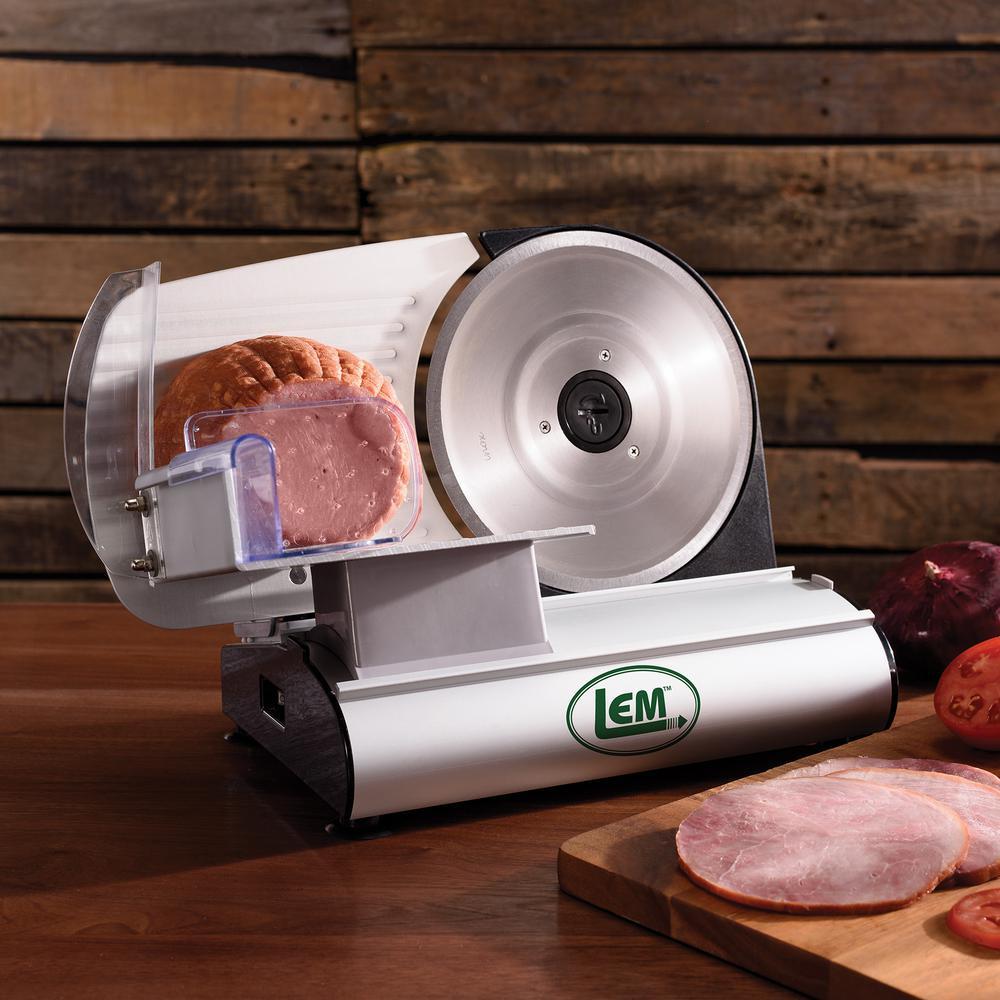 LEM Mighty Bite 200 W SIlver Meat Slicer