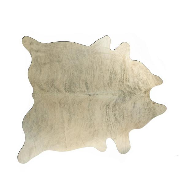 Kobe Light Brindle 6 ft. x 7 ft. Cowhide Rug
