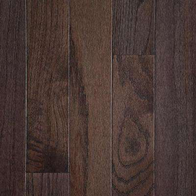 Oak Shale 3/4 in. Thick x 5 in. Wide x Varying Length Smooth Finish Solid Hardwood Flooring (21 sq. ft. / case)