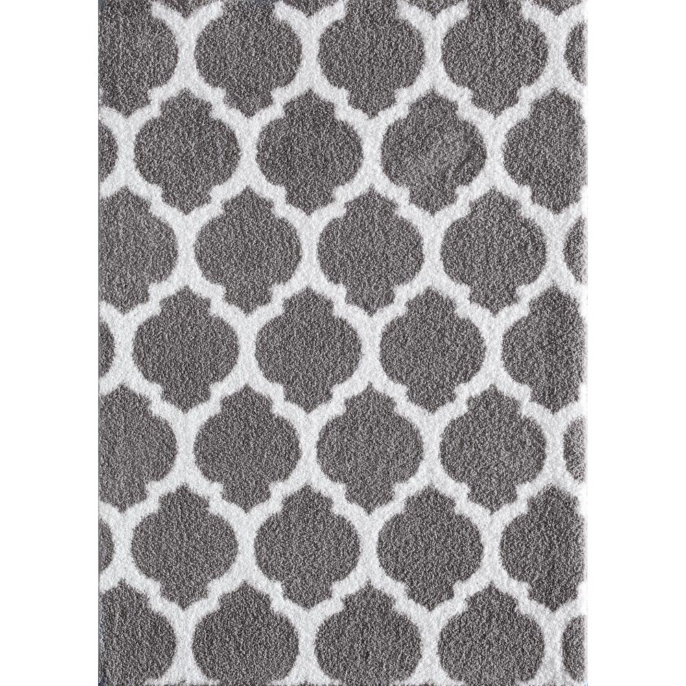 Natco Seyward Anium Pure White 8 Ft X 10 Area Rug